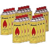 RSonic 20x Gaskartuschen MSF-1A 227g (400ml) für Campingkocher Gaskocher Grill Gaskartusche