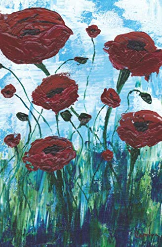 Red Poppies Journal (Red Poppys)