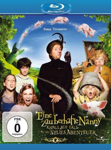 Eine zauberhafte Nanny - Knall auf Fall in ein neues Abenteuer [Blu-ray]