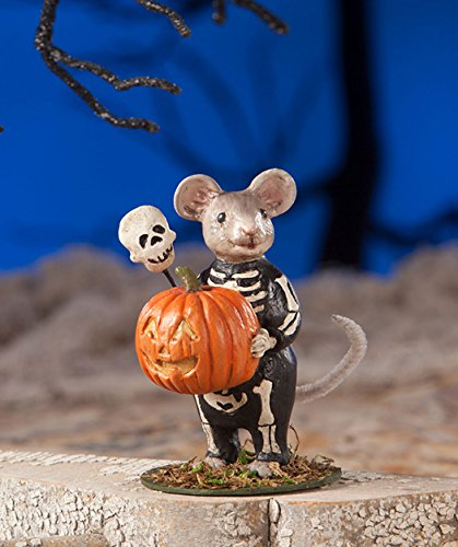 Bethany Lowe Halloween td7625Skelly Maus 2018 -