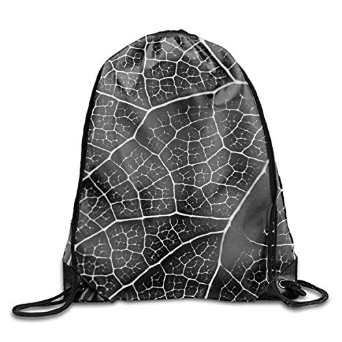 uykjuykj Tunnelzug Rucksäcke, Drawstring Backpack Withered Leaf Goodie Bags,Promotional Gym Sack for Birthday Party Withered leaf3 Lightweight Unique 17x14 IN