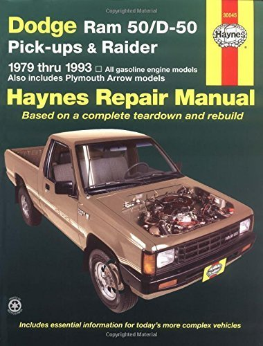 dodge-ram-50-d50-pickups-raider-1979-1993-haynes-automotive-repair-manuals-by-john-haynes-1993-07-30