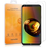 kwmobile 2X LG Q6 / Q6+ Folie - Glas Handy Schutzfolie für LG Q6 / Q6+ - Full Screen Bildschirm Schutz