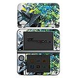 Nintendo New 3DS XL Case Skin Sticker aus Vinyl-Folie Aufkleber Kristalle Explosion Glas