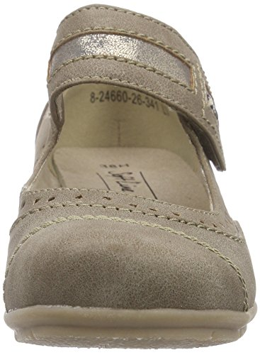 Softline 24660, Mary Jane femme Beige - Beige (Taupe 341)