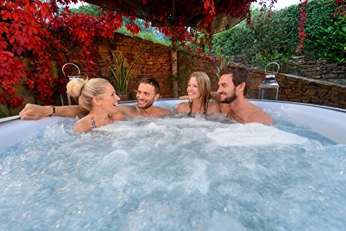 Lay-Z-Spa Vegas Hot Tub, Airjet Inflatable Spa, 4-6 Person