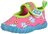 Playshoes Badeschuhe Blumen mit höchstem UV-Schutz nach Standard 801 174759, Mädchen Aqua Schuhe, Pink (original 900), 20/21 EU