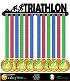 Medal display, porta medaglie, medagliere da muro, medal hanger (TRIATHLON design)