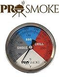 5'fiume paese regolabile per barbecue, grill, Affumicatore e Pit Termometro (rc-t53) (si adatta alla maggior parte dei barbecue)