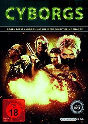Cyborgs (10er-Schuber: Nemesis 1-4, Hologram Man, The Demolitionist, American Cyborg, Slinger (Cyborg), Die Klasse von 1999, Pr