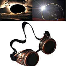 lzndeal gafas Punk Eclipse gafas de destello Solar gafas de protección  contra los shades 14 Goggles f07f19e71f0e