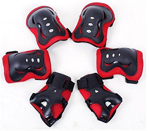 meta-u-set-schutz-fur-kinder-beim-rollschuhfahren-2-ellenbogenschutzer-2-handgelenkstutzen-2-kniesch