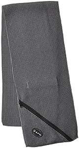 Troika Workout-Handtuch Schwitz-Ableiter grau
