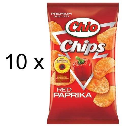Chio Chips Red Paprika (10x 175g Tüten)