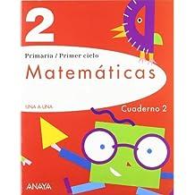 Matemáticas 2. Cuaderno 2. (UNA A UNA)