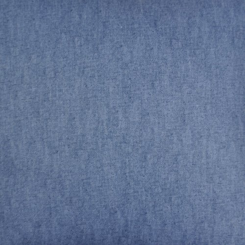 Mason Gray Fusion – Sorbonne – 100% Cotton Filled Cushion – 43×43 cm, Denim