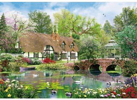 Wentworth-Wooden-Puzzles / Davison: April Cottage - April Cottage