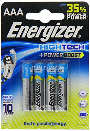 Energizer Alkaline AAA/LR03 HighTech (4-er Blister)