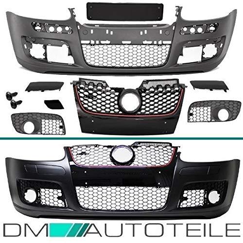DM Autoteile Golf 5 V Stoßstange Vorne Frontschürze+Wabengrill für GTI KOMPLETT mit ABE*