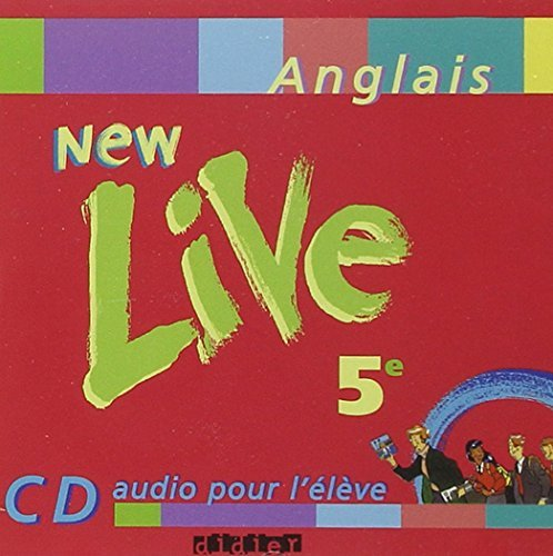 New Live : 5e, anglais LV1, pour l'lve (CD audio) by Odile Plays Martin-Cocher (2004-10-20)