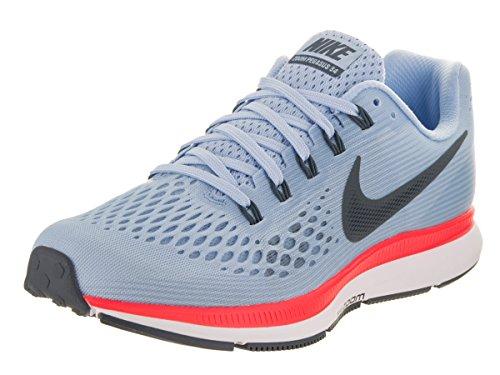 Nike Damen Wmns Air Zoom Pegasus 34 Laufschuhe Blau (blu Ghiaccio / Brillante Cremisi / Bianco / Blu Volpe)
