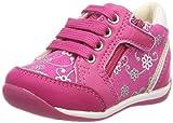 Geox Baby Mädchen B Each Girl C Sneaker, Pink (Dk Fuchsia), 21 EU