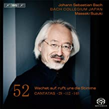 Intégrale des Cantates vol 52 : Cantates BWV 29, 112 & 140