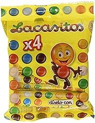 Lacasitos Gacea de Chocolate con Leche, 4 Tubos - 80 g