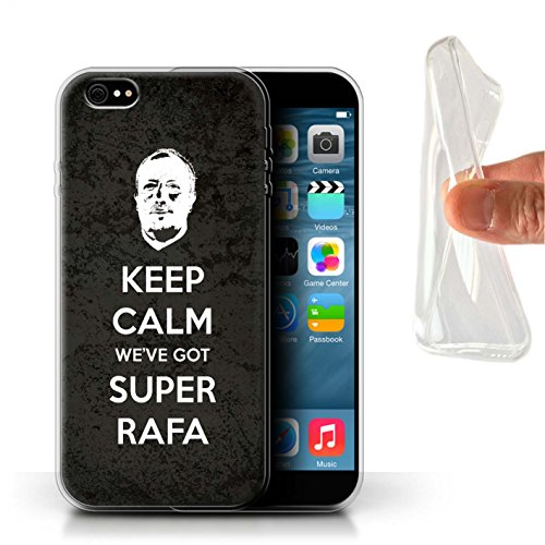 Officiel Newcastle United FC Coque / Etui Gel TPU pour Apple iPhone 6+/Plus 5.5 / Pack 8pcs Design / NUFC Rafa Benítez Collection Rester Calme