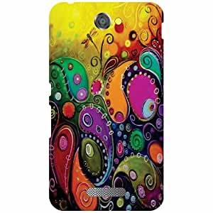 Sony Xperia E4 Printed Mobile Back Cover