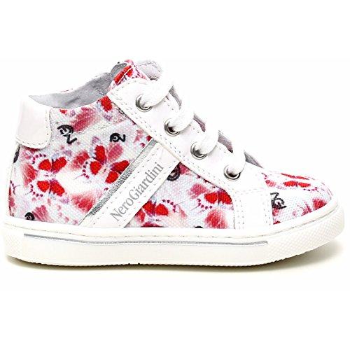 Nero Giardini Junior , Chaussures premiers pas pour bébé (fille) Blanc Cassé blanc 21 - Blanc Cassé - Fantasia, 22 EU