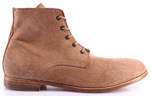 Moma Chaussures Homme Bottes 17505-RH Reversed Chamois Deluxe Handmade In Italy