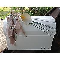 Briefbox Truhe CALLA TAUPE Hochzeit Geschenkschachtel Erinnerungsbox
