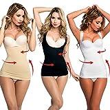 INSTASHAPE 3 Stk. Shapewear in 3 Farben nude schwarz weiss Bauch, Busen und Taillenformer Bustier Push up sexy Taille Kompression | Das Original von Mediashop