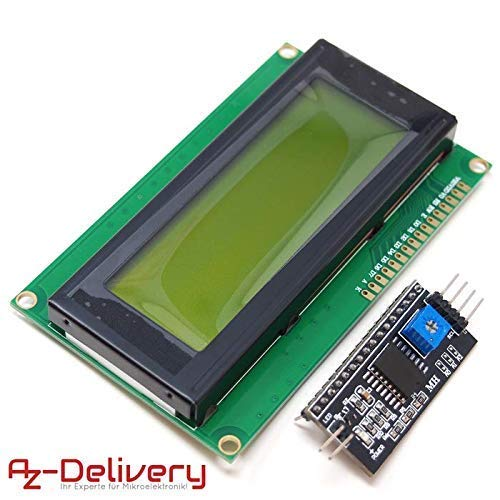AZDelivery ⭐⭐⭐⭐⭐ HD44780 2004 LCD Display