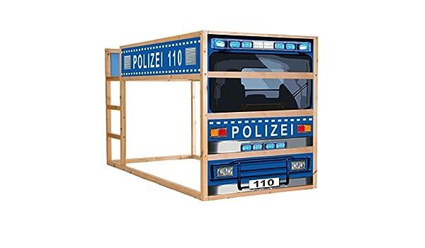 Etagenbett Polizei : Stikkipix polizeiauto möbelsticker aufkleber im210 passend für