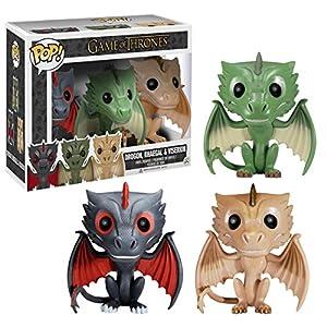 Figura Pop Juego De Tronos: Set 3 Dragones 7