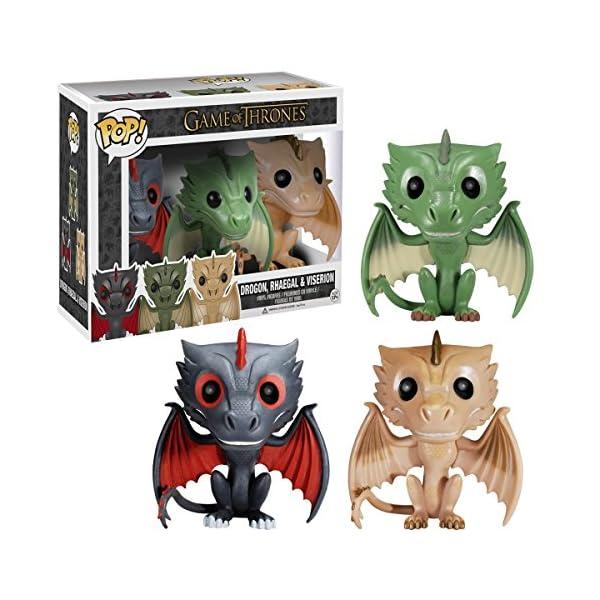 Figura Pop Juego De Tronos: Set 3 Dragones 1