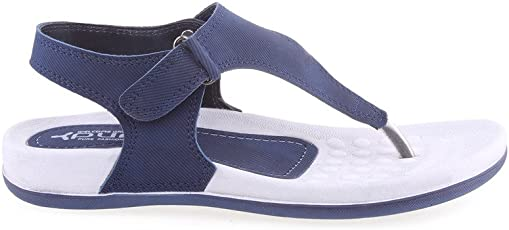 Pure-Pf-01Flats For Womens (Navy)