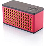 XD P326.654 - Altavoz portátil de 6W (Bluetooth, NFC, 1200 mAh), color rojo