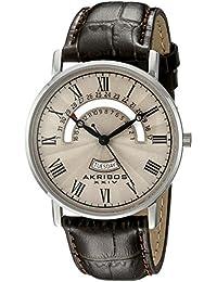 Akribos XXIV Reloj de cuarzo Man AK898BR 40 mm
