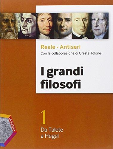 I grandi filosofi. Ediz. plus. Per i Licei. Con DVD. Con e-book. Con espansione online: 1