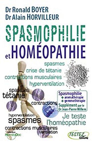 Spasmophilie et homopathie