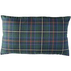 Escoces Verde - cojin decorativo - cojin rojo - cojin cama - juego cama - wiki pillow - 40x70cm.