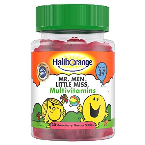Haliborange Mr. Men Little Miss Multivitamins 30 Strawberry -