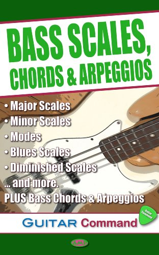 Bass Scales Chords Arpeggios Ebook Laurence Harwood Amazon