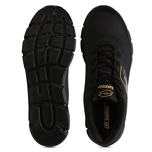 1ddfe2bae77 Lotto Men s Vertigo Black Running Shoes - 7 UK India (41 EU) ...