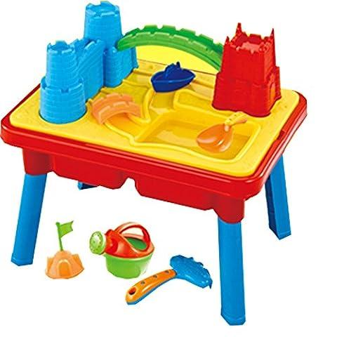 Table de jeu 2 en 1 pour sable/eau - enfant