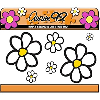 Aurum92 Daisy Sticker Pack - Over 40 Flowers