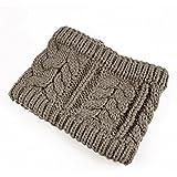 Easy Lifestyles Korean Knitted Wool Crochet Warm Headband Hairband Head Wrap Hat